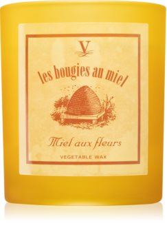 Vila Hermanos Les Bougies au Miel Honey Flower Tuoksukynttilä