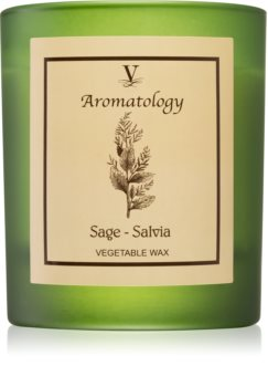 Vila Hermanos Aromatology Sage vonná svíčka