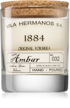 Vila Hermanos 1884 Amber świeczka zapachowa