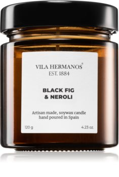 Vila Hermanos Apothecary Black Fig & Neroli scented candle