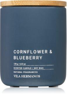 Vila Hermanos Concrete Cornflower & Blueberry duftlys