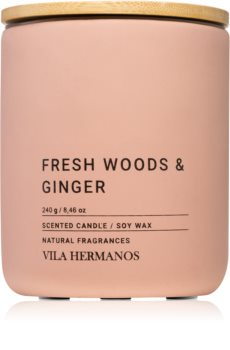 Vila Hermanos Concrete Fresh Wood & Ginger świeczka zapachowa