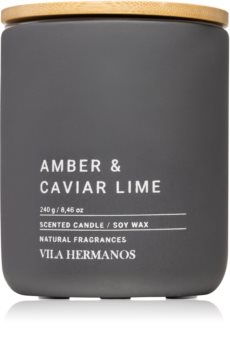 Vila Hermanos Concrete Amber & Caviar Lime aроматична свічка