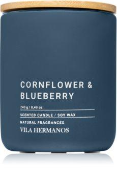 Vila Hermanos Concrete Cornflower & Blueberry vonná sviečka