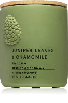 Vila Hermanos Juniper Leaves & Chamomille dišeča sveča