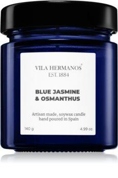 Vila Hermanos Apothecary Cobalt Blue Jasmine & Osmanthus lumânare parfumată