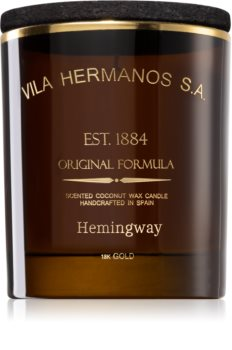 Vila Hermanos Hemingway scented candle