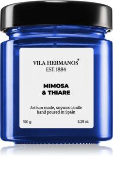 Vila Hermanos Apothecary Cobalt Blue Mimosa & Thiare vonná svíčka