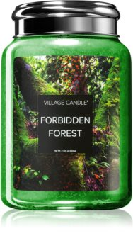 Village Candle Forbidden Forest scented candle