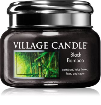 Village Candle Black Bamboo geurkaars