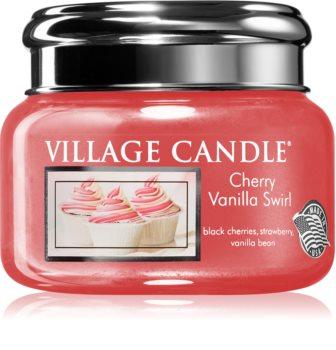 Village Candle Cherry Vanilla Swirl illatos gyertya