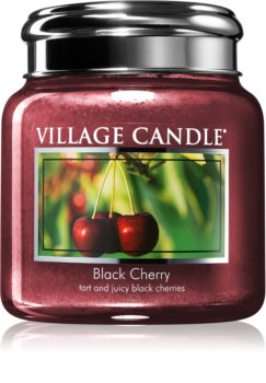 Village Candle Black Cherry scented candle
