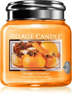 Village Candle Orange Cinnamon vonná svíčka