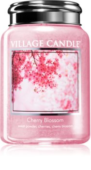 Village Candle Cherry Blossom scented candle