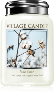 Village Candle Pure Linen scented candle