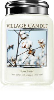 Village Candle Pure Linen ароматна свещ