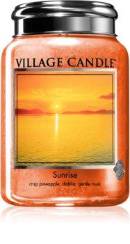 Village Candle Sunrise Tuoksukynttilä