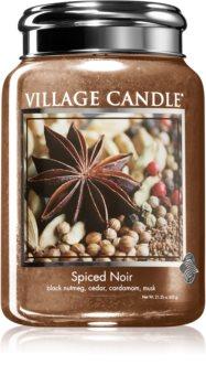Village Candle Spiced Noir illatos gyertya