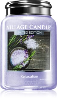 Village Candle Relaxation scented candle