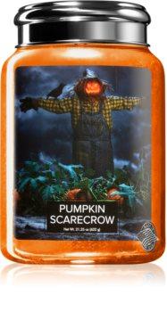 Village Candle Pumpkin Scarecrow doftljus