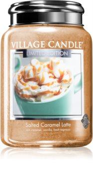 Village Candle Salted Caramel Latte vonná svíčka