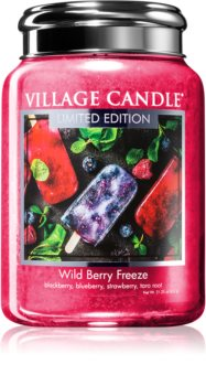 Village Candle Wild Berry Freeze scented candle