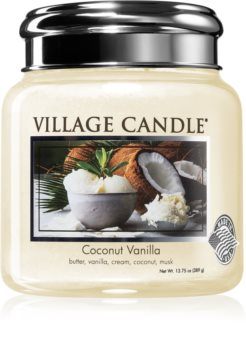 Village Candle Coconut Vanilla αρωματικό κερί