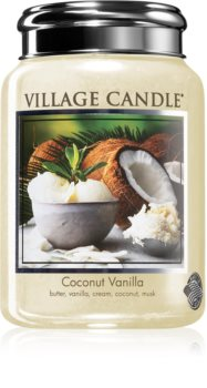 Village Candle Coconut Vanilla scented candle