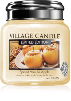Village Candle Spiced Vanilla Apple scented candle