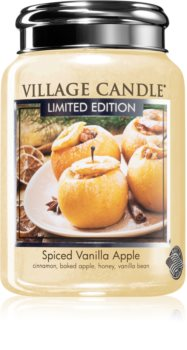 Village Candle Spiced Vanilla Apple candela profumata