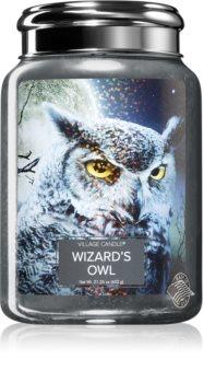 Village Candle Wizard´s owl candela profumata