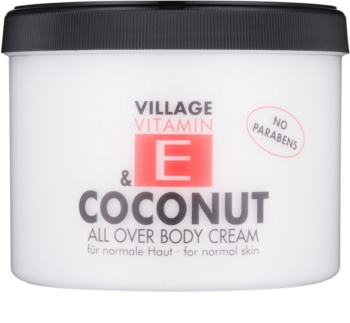Village Vitamin E Coconut crema corpo
