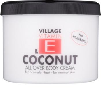 Village Vitamin E Coconut крем за тяло