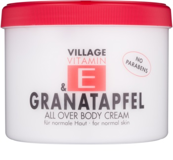 Village Vitamin E Pomegranate crema corpo