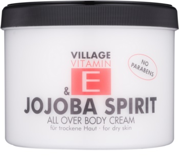 Village Vitamin E Jojoba Spirit testápoló krém