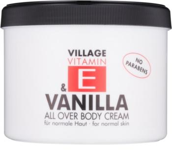 Village Vitamin E Vanilla Body Cream