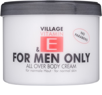 Village Vitamin E For Men Only krema za tijelo