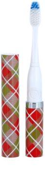 Violife Slim Sonic Gift Wrap escova de dentes sónica elétrica com cabeça de reposição