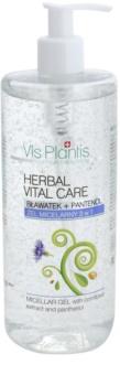Vis Plantis Herbal Vital Care Cornflower Extract & Panthenol Micellar Gel 3in1