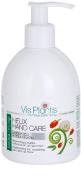 Vis Plantis Helix Hand Care máscara regeneradora para mãos e unhas