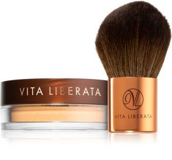 Vita Liberata Trystal Minerals бронзираща пудра с четка