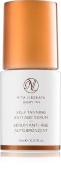 Vita Liberata Luxury Tan Self Tanning Anti Age Serum Selbstbräuner-Serum für das Gesicht gegen die Zeichen des Alterns