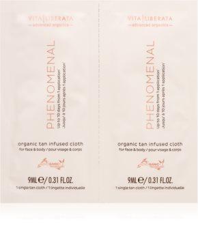 Vita Liberata Phenomenal Organic Tan Infused Cloths Self-Tanning Tissue