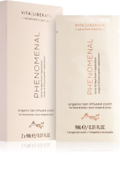 Vita Liberata Phenomenal Organic Tan Infused Cloths Self-Tanning Tissue