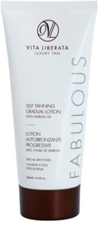 Vita Liberata Fabulous Self Tanning Gradual Lotion crème autobronzante transparente pour un bronzage progressif
