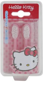 VitalCare Hello Kitty náhradné hlavice pre sonickú zubnú kefku na baterky 2 ks