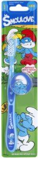 VitalCare The Smurfs zubní kartáček pro děti s cestovní krytkou