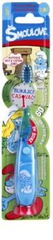 VitalCare The Smurfs escova com temporizador para crianças