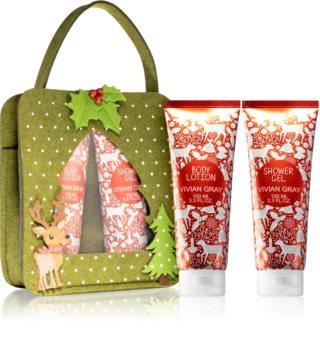 Vivian Gray Red Christmas Gift Set For Women
