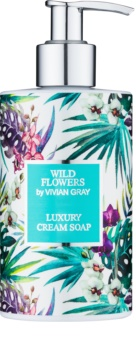 Vivian Gray Wild Flowers sabonete cremoso  para mãos
